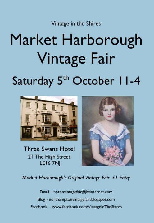 Market Harborough Vintage Fair - 5th October 2013