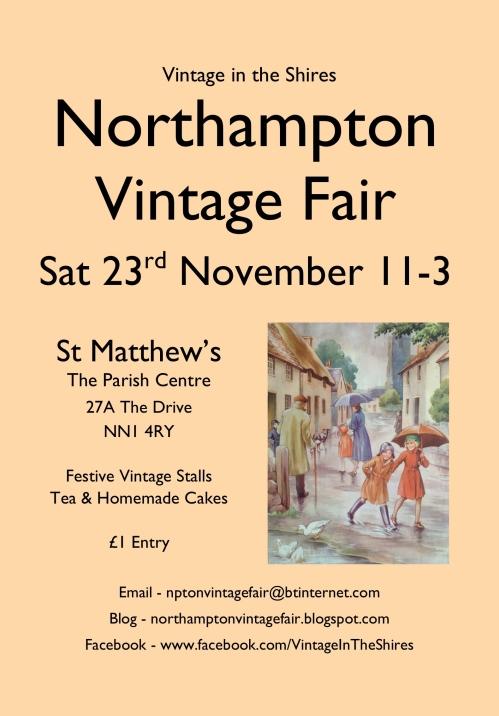 Northampton Vintage Fair - 23rd November 2013