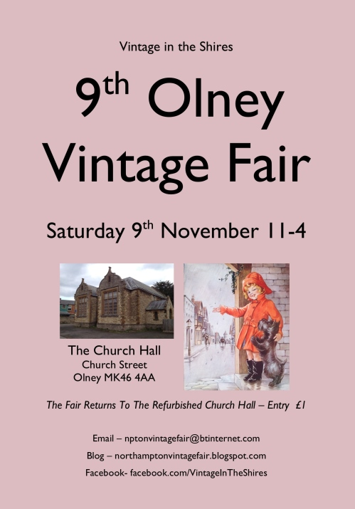 Olney Vintage Fair - 9th November 2013