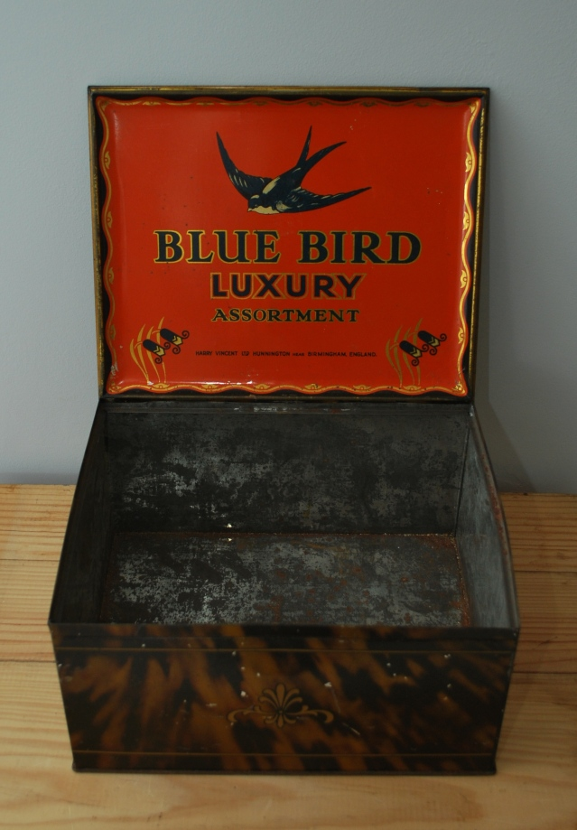 vintage bluebird toffee tin  from Lost Property Vintage