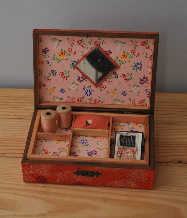 vintage sewing box  from Lost Property Vintage