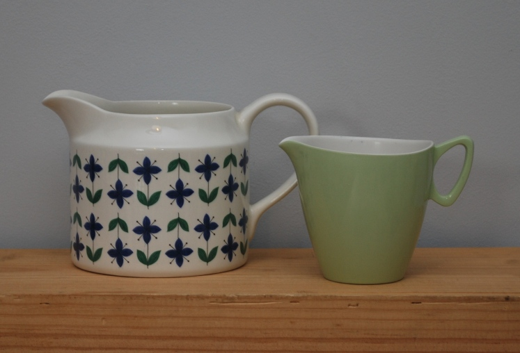 Vintage Midwinter and Melaware jugs by Lost Property Vintage