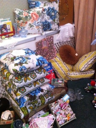 Edith Gray at the Bows & Braces Vintage Fair - picture by Lost Property Vintage