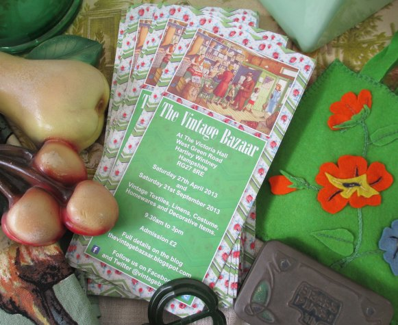 The Vintage Bazaar at Hartley Wintney - September 2013