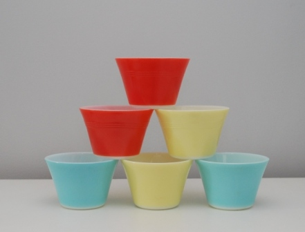 vintage pyrex cups from Lost Property Vintage