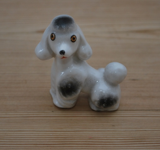 Vintage Poodle Ornament  from Lost Property Vintage