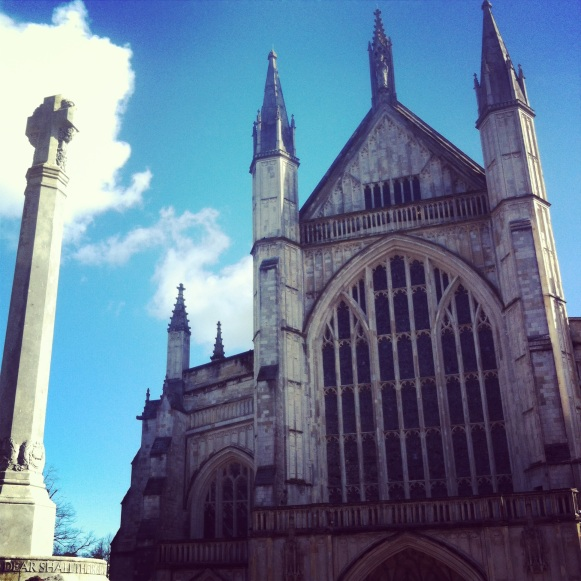 Winchester Cathedral by Lost Property Vintage